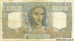 1000 Francs MINERVE ET HERCULE FRANCE  1949 F.41.28 TB