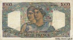 1000 Francs MINERVE ET HERCULE FRANCE  1950 F.41.32 TB+