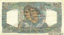 1000 Francs MINERVE ET HERCULE FRANCE  1950 F.41.33 TTB+