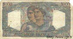 1000 Francs MINERVE ET HERCULE FRANCE  1950 F.41.33 B