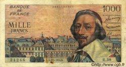 1000 Francs RICHELIEU FRANCE  1954 F.42.05 TB+