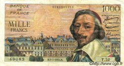 1000 Francs RICHELIEU FRANCE  1954 F.42.06 TB