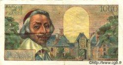 1000 Francs RICHELIEU FRANCE  1955 F.42.11 TTB+