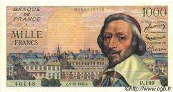 1000 Francs RICHELIEU FRANCE  1955 F.42.17 SPL+