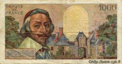 1000 Francs RICHELIEU FRANCE  1956 F.42.19 TTB