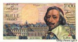 1000 Francs RICHELIEU FRANCE  1956 F.42.22 SUP+ à SPL