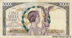 5000 Francs VICTOIRE Impression à plat FRANCE  1940 F.46.18 pr.TTB