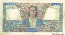 5000 Francs EMPIRE FRANÇAIS FRANCE  1942 F.47.04 pr.TB
