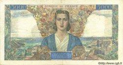 5000 Francs EMPIRE FRANÇAIS FRANCE  1945 F.47.10 TB+