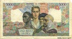 5000 Francs EMPIRE FRANÇAIS FRANCE  1945 F.47.16 B
