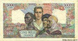 5000 Francs EMPIRE FRANÇAIS FRANCE  1945 F.47.20 TB