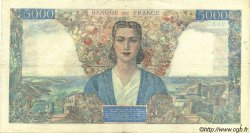5000 Francs EMPIRE FRANÇAIS FRANCE  1945 F.47.24 pr.TTB