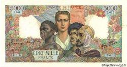 5000 Francs EMPIRE FRANÇAIS FRANCE  1945 F.47.26 pr.SUP