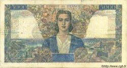 5000 Francs EMPIRE FRANÇAIS FRANCE  1946 F.47.52 pr.TTB
