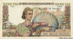 10000 Francs GÉNIE FRANÇAIS FRANCE  1950 F.50.39