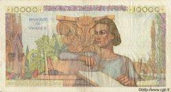 10000 Francs GÉNIE FRANÇAIS FRANCE  1950 F.50.39 TB+