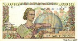 10000 Francs GÉNIE FRANÇAIS FRANCE  1951 F.50.48 SUP