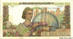 10000 Francs GÉNIE FRANÇAIS FRANCE  1951 F.50.50 TTB