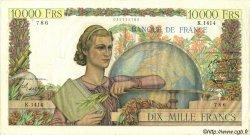 10000 Francs GÉNIE FRANÇAIS FRANCE  1951 F.50.50 TTB+