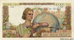 10000 Francs GÉNIE FRANÇAIS FRANCE  1951 F.50.53 TTB
