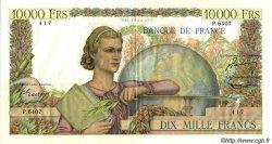 10000 Francs GÉNIE FRANÇAIS FRANCE  1954 F.50.69 pr.SUP