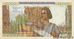 10000 Francs GÉNIE FRANÇAIS FRANCE  1954 F.50.70 pr.SUP