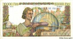 10000 Francs GÉNIE FRANÇAIS FRANCE  1955 F.50.73 SUP