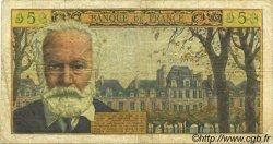 5 Nouveaux Francs VICTOR HUGO FRANCE  1959 F.56.04 pr.TB