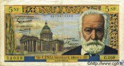 5 Nouveaux Francs VICTOR HUGO FRANCE  1963 F.56.14 pr.TTB