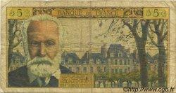 5 Nouveaux Francs VICTOR HUGO FRANCE  1964 F.56.16 B