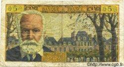 5 Nouveaux Francs VICTOR HUGO FRANCE  1965 F.56.20 B+