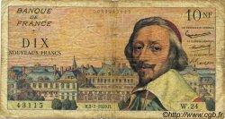 10 Nouveaux Francs RICHELIEU FRANCE  1959 F.57.02 B