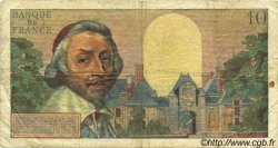 10 Nouveaux Francs RICHELIEU FRANCE  1960 F.57.05 pr.TB