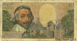 10 Nouveaux Francs RICHELIEU FRANCE  1961 F.57.14 AB