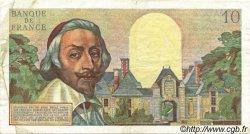 10 Nouveaux Francs RICHELIEU FRANCE  1961 F.57.16 pr.TTB