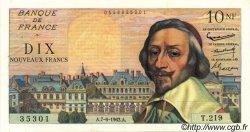 10 Nouveaux Francs RICHELIEU FRANCE  1962 F.57.19 pr.NEUF