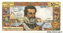 50 Nouveaux Francs HENRI IV FRANCE  1959 F.58.02 SPL