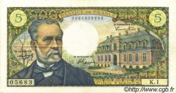 5 Francs PASTEUR FRANCE  1966 F.61.01 TTB