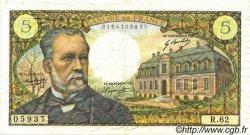5 Francs PASTEUR FRANCE  1967 F.61.06 TTB