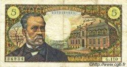 5 Francs PASTEUR FRANCE  1969 F.61.11 TB+