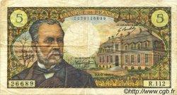 5 Francs PASTEUR FRANCE  1969 F.61.11 TB