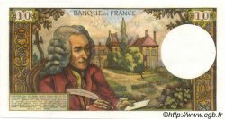 10 Francs VOLTAIRE FRANCE  1966 F.62.20 SUP+