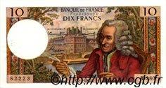 10 Francs VOLTAIRE FRANCE  1967 F.62.24 SPL