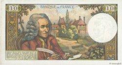 10 Francs VOLTAIRE FRANCE  1967 F.62.25 SUP+
