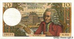 10 Francs VOLTAIRE FRANCE  1967 F.62.28 TTB