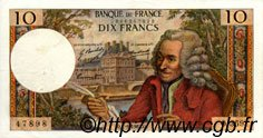 10 Francs VOLTAIRE FRANCE  1967 F.62.28 SUP