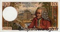 10 Francs VOLTAIRE FRANCE  1968 F.62.32 SUP+
