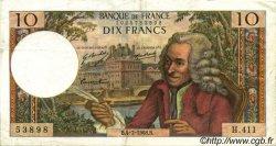 10 Francs VOLTAIRE FRANCE  1968 F.62.33 TTB+