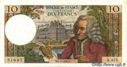 10 Francs VOLTAIRE FRANCE  1968 F.62.33 SUP+