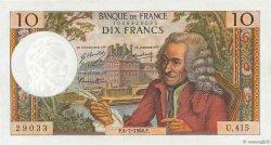 10 Francs VOLTAIRE FRANCE  1968 F.62.33 SUP+